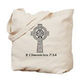 Celtic 2 Chr 7:14 Tote Bag