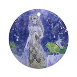 Midnight Masquerade Ornament (Round)