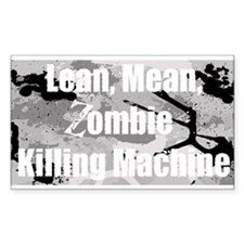 Zombie Killing Machine Decal