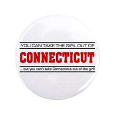 "'Girl From Connecticut' 3.5"" Button"
