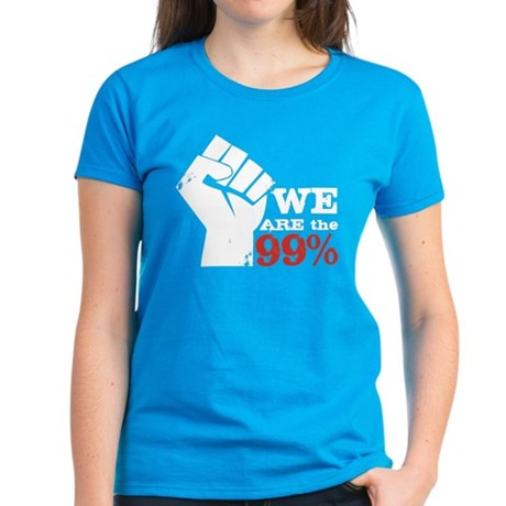 We Are the 99% Women's Dark T-Shirt