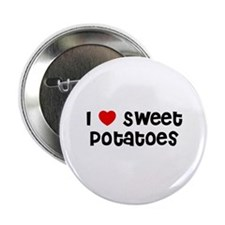 "I * Sweet Potatoes 2.25"" Button (10 pack)"