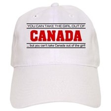 'Girl From Canada' Baseball Cap