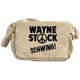 Wayne Stock Schwing! Messenger Bag