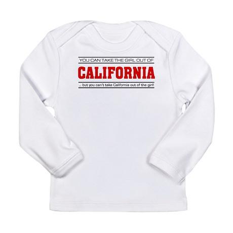 'Girl From California' Long Sleeve Infant T-Shirt