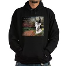 """Why God Made Dogs"" Great Dane Hoodie"