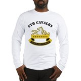 8th Cavalry Division Long Sleeve T-Shirt