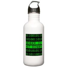 Gender is not Binary Water Bottle