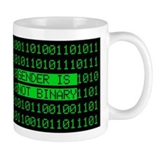 Gender is not Binary Coffee Mug