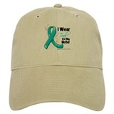 I Wear Teal Mother Ovarian Cancer Hat