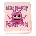 Little Monster Maureen baby blanket