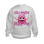 Little Monster Maureen Kids Sweatshirt