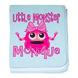 Little Monster Monique baby blanket