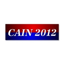 Cain 2012 Car Magnet 10 x 3