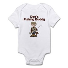 Dad's Fishing Buddy Infant Creeper