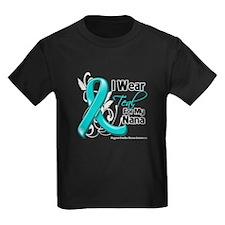 I Wear Teal Nana Ovarian Cancer T