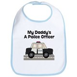 My Daddy's A Police Officer Bib