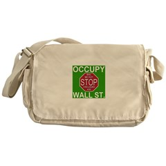 Occupy Wall Street Messenger Bag