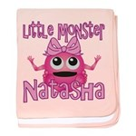 Little Monster Natasha baby blanket