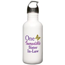 One Incredible Sister-In-Law Water Bottle