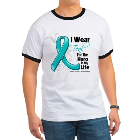 Hero in My Life Ovarian Cancer Ringer T