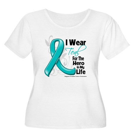 Hero in My Life Ovarian Cancer Women's Plus Size S