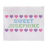 Sweet JOSEPHINE Throw Blanket
