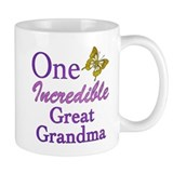One Incredible Great Grandma Mug