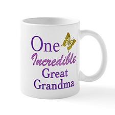 One Incredible Great Grandma Mug