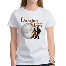 Retro Dancing with the Stars Women's T-Shirt