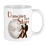 Retro Dancing with the Stars Coffee Mug