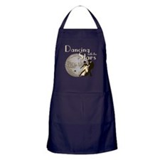 Retro Dancing with the Stars Dark Apron