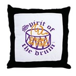DRUMS ON FIRE™ Throw Pillow