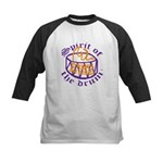 DRUMS ON FIRE™ Kids Baseball Jersey
