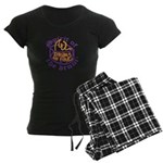 DRUMS ON FIRE™ Women's Dark Pajamas
