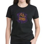 DRUMS ON FIRE™ Women's Dark T-Shirt