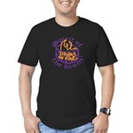 DRUMS ON FIRE™ Men's Fitted T-Shirt (dark)