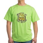DRUMS ON FIRE™ Green T-Shirt