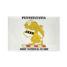 DUI-PENNSYLVANIA ANG WITH TEXT Rectangle Magnet