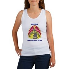 DUI-OREGON ANG WITH TEXT Women's Tank Top