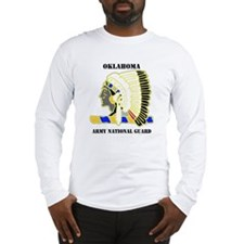 DUI-OKLAHOMA ANG WITH TEXT Long Sleeve T-Shirt