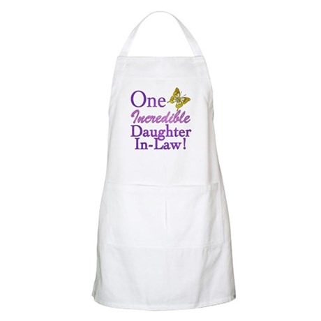 One Incredible Daughter-In-Law Apron