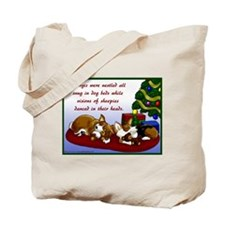 Christmas Corgis Tote Bag