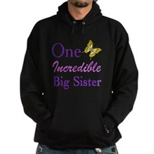 One Incredible Big Sister Hoodie