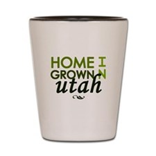 'Home Grown In Utah' Shot Glass