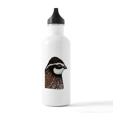 Bobwhite Quail Head Stainless Water Bottle 1.0L