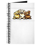 3 Golden Retrievers Journal
