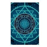 Starry Sky Yantra Postcards (Package of 8)