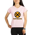 Dont cross me Performance Dry T-Shirt