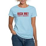 Kick Me Women's Light T-Shirt